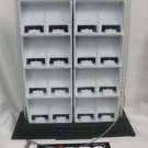Zippo Advertising 16 Lighter Counter Top Display Case with Lock & Key