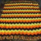 Crochet Afghan Bright Colored