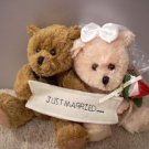 Just Married Plush Sachet