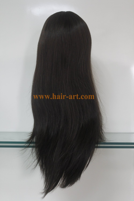 "#4-22""-Mongolian hair stock jewish wig (Sheitel Kosher wigs)"