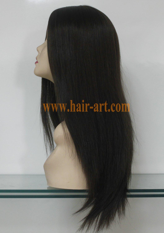 "#6/8-20""-Mongolian hair stock jewish wig (Sheitels Kosher wigs)"