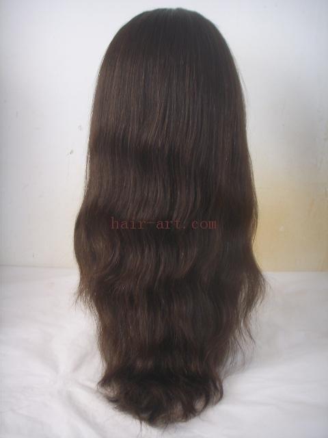 "20""-Brazilian virgin hair stock full lace wig"