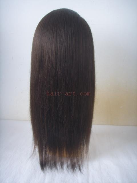 "20""-Malaysian virgin hair stock full lace wig"