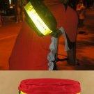 Night Cycling Big Light Reflex Strip Waist Messenger Bag