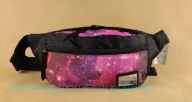 Tokyo Street Style Fixie Galaxy Leaf Waist Messenger Bag