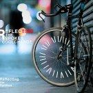 Bicycle Bike Wheel Spokes Rims Light Reflective Strip