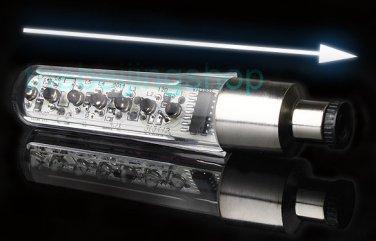 Text Pattern 7 LED Sensitive Cycling Bicycle Bike Wheel Light