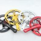 Fixie Fixed Gear Bike CNC Alum 52T Crank Set & Arm