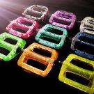 Strength plastic made Fixed Gear bike Platform Pedals