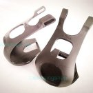 Fixie Fixed Gear Bicycle Bike Plastic Pedals Toe Clip Set