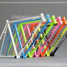 New Bicycle accessories Fixie Fixed Gear bike frame 700C