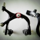 Fixie Bike Brake Lever Caliper kit + Cable for Riser bar