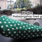 Vurtne Fixie Bicycle Seat Cover (Green & star /Standard)