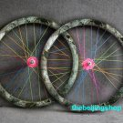Fixie Fixed Gear bike Wheel Rim Stickers (ink for 1 wheel)