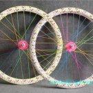 Fixed Gear bike Wheel Rim Stickers (love for 1 wheel)