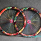Fixie Bicycle Fixed Gear bike Wheel Rim Stickers (check for 1 wheel)