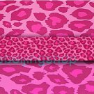 Fixie Fixed Gear Bicycle Frame Tube Sticker Pink Leopard
