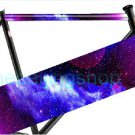 Fixie Fixed Gear Bicycle Frame Tube Sticker (Star Nebula)