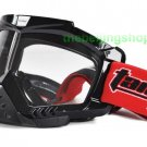 ATV Dirt Bike Motorcycle Goggles with nose cover (Black)