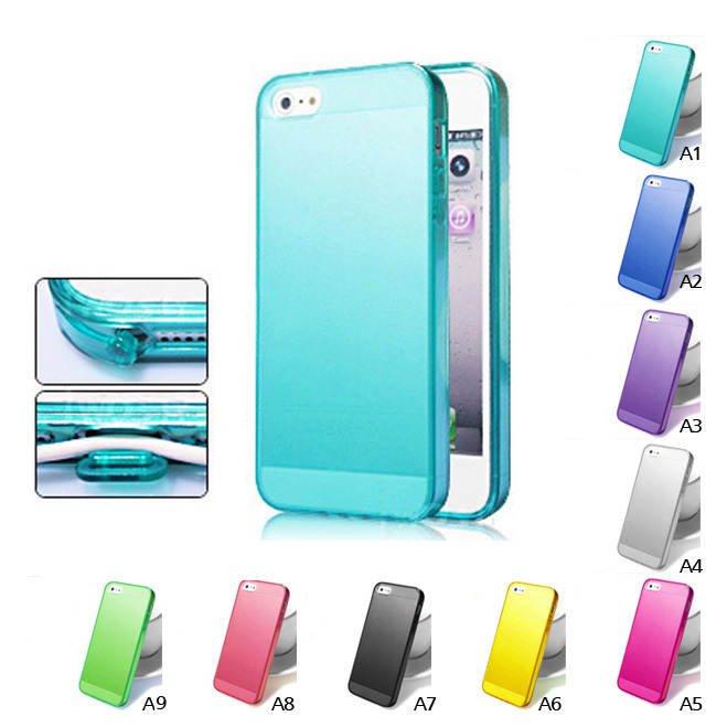Phone Case for iPhone 5 elastic silicone scrub case