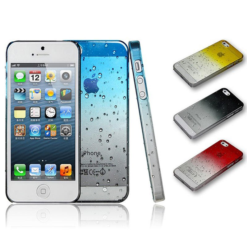 Phone Case for iPhone 5 waterdrop high quality plastic