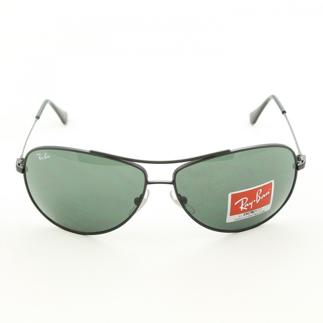 Ray Ban RB 3293 size 63 Aviator Sunglasses Col 006/71 Matte Black 100% Auth&New