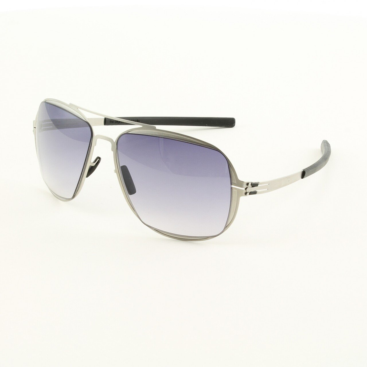 ic! Berlin Star Formation Sunglasses Col. Pearl with Grey Gradient Lenses
