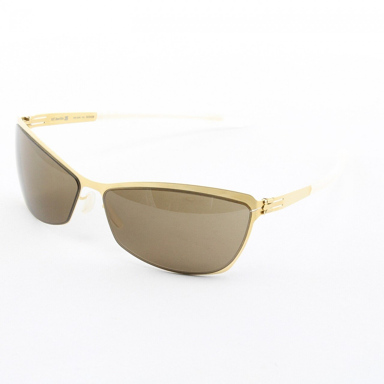 ic! Berlin Cacilia Sunglasses Col. Gold with Brown Lenses