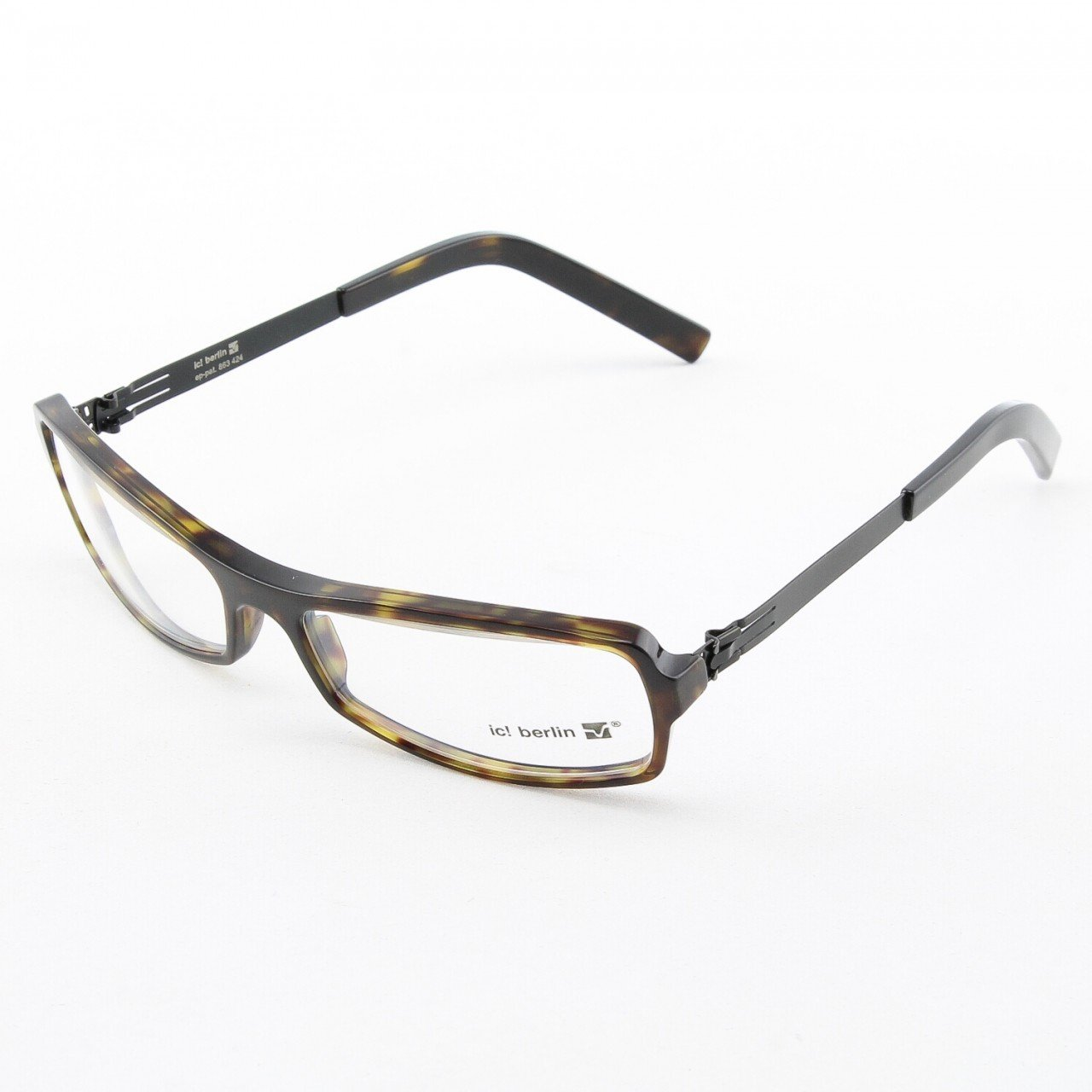 ic! Berlin Lili Eyeglasses Col. tortois with Clear Lenses