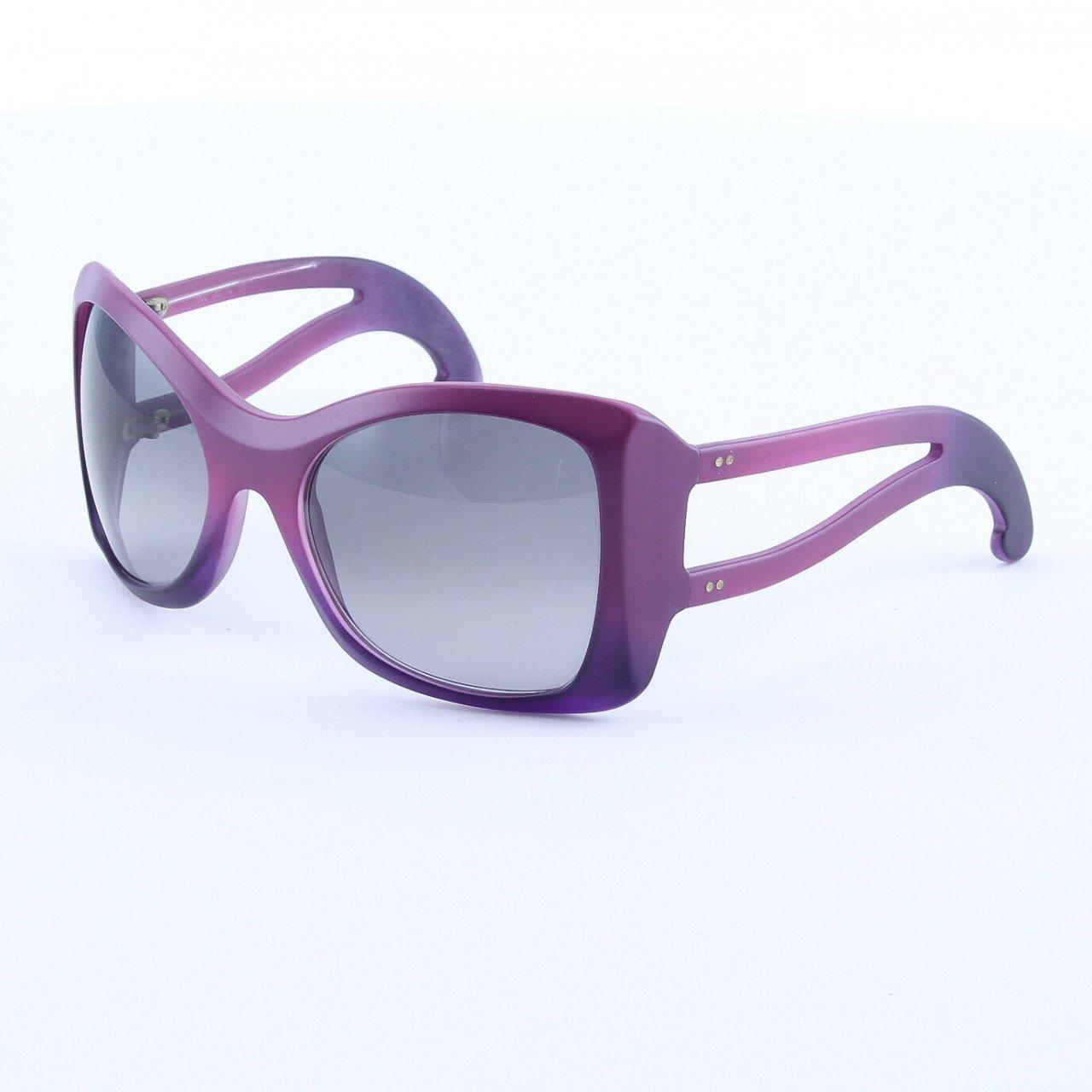 Marni MA150S Sunglasses Col. 02 Opaque Purple Graduating to Deep Purple with Gray Lenses