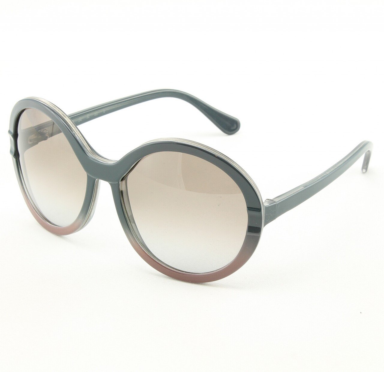 Marni MA145 Sunglasses Col. 04 Classic Gray Dusty Rose w/Decorative Accent with Gray Gradient Lenses