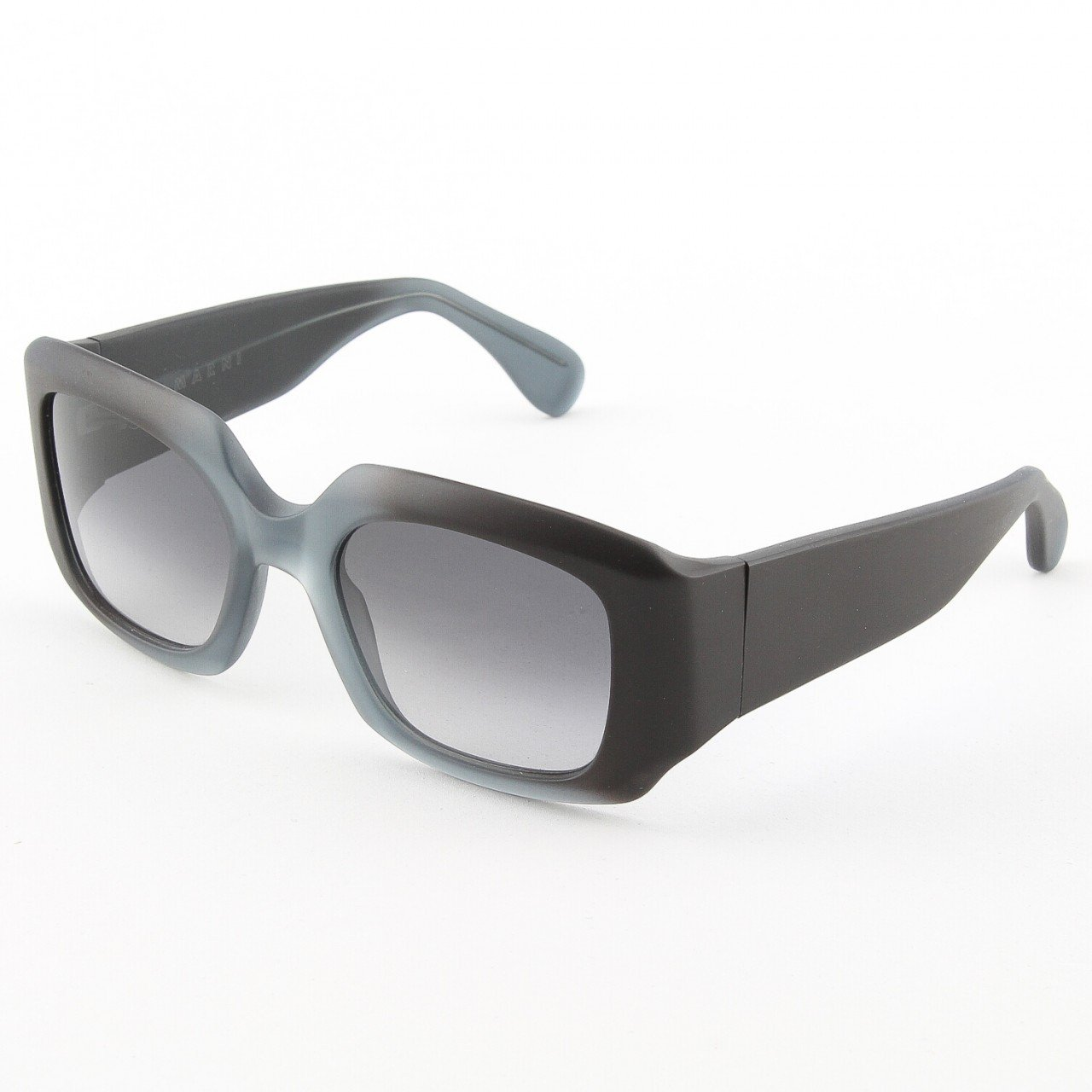 Marni MA129S Sunglasses Col. 18 Dark Charcoal Light Gray with Gray Gradient Lenses