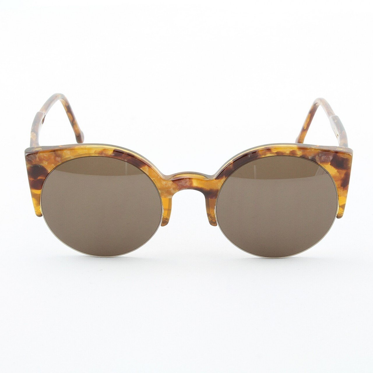 Super Lucia 529 Sunglasses Brown Stone with Brown Zeiss Lenses by RETROSUPERFUTURE