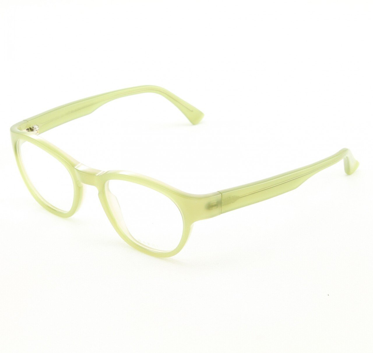 Marni MA630S Eyeglasses Col. 47 Frosted Light Green with Clear Lenses