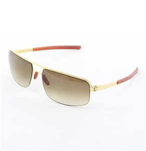 ic! Berlin Aaro Sunglasses Col. Gold with Brown Gradient Lenses