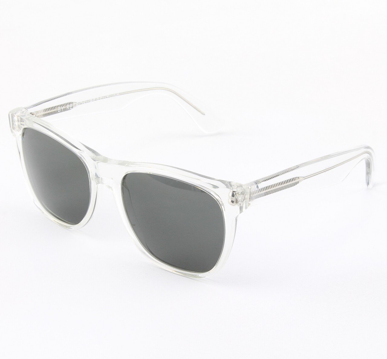 Super Classic 015/3T Sunglasses Crystal with Grey Zeiss Lenses by RETROSUPERFUTURE