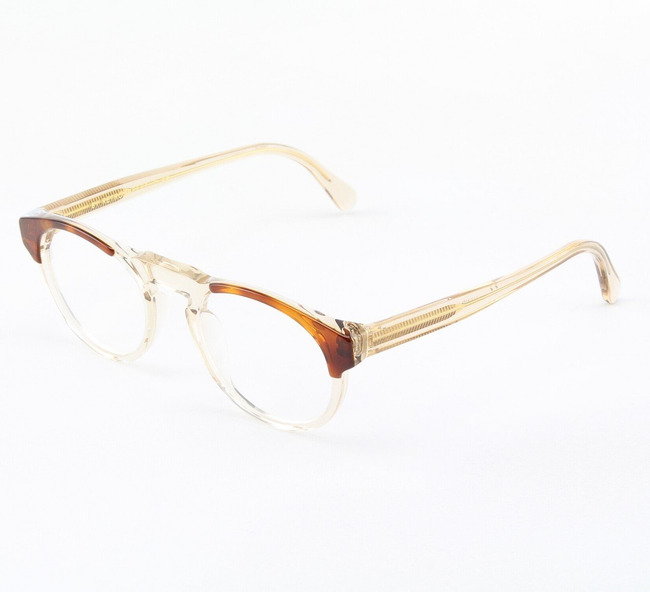 Super Paloma 961/0T Eyeglasses Brown with Clear Zeiss Lenses by RETROSUPERFUTURE