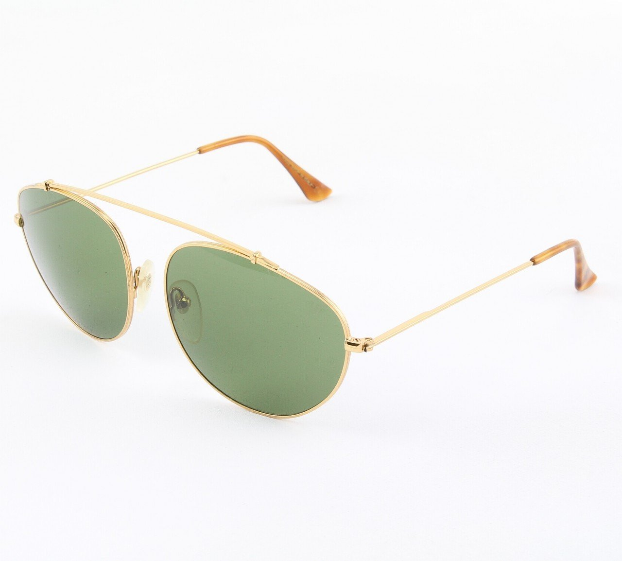 Super Leon 713/2M Sunglasses Havana with Green Zeiss Lenses by RETROSUPERFUTURE