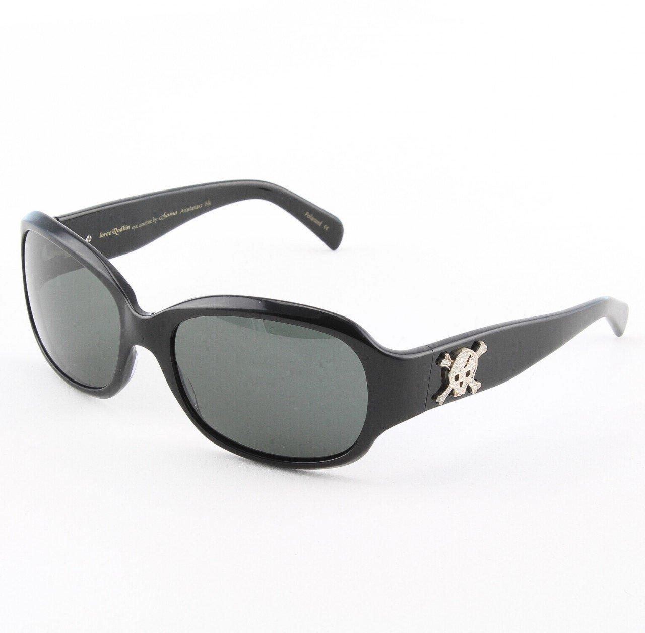 Loree Rodkin Anastasia Sunglasses by Sama Col. Black with Gray Lenses