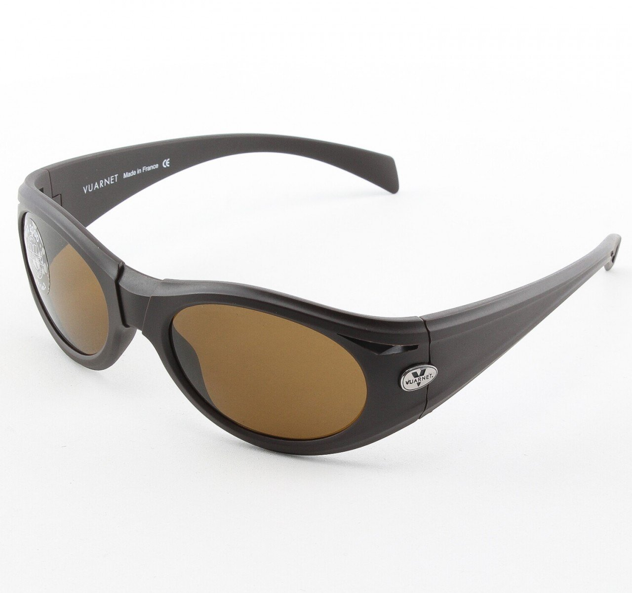Vuarnet VL 1125 Sunglasses Col. P00F 2121 Brown with Brown PX2000 Lenses