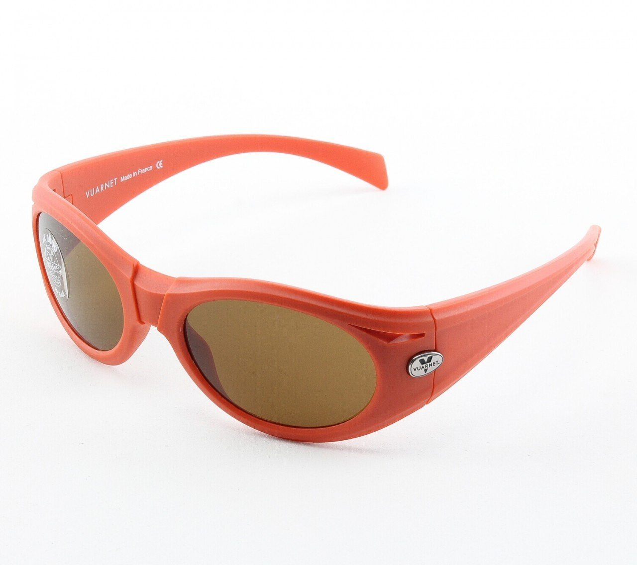 Vuarnet VL 1125 Sunglasses Col. P00H 2121 Red with Brown PX2000 Lenses