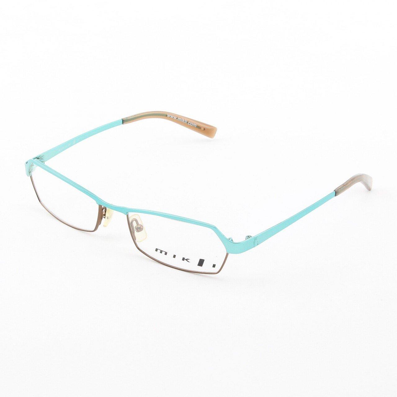 Alain Mikli Eyeglasses AL0521 Col. 02 Shiny Light Turquoise Bronze