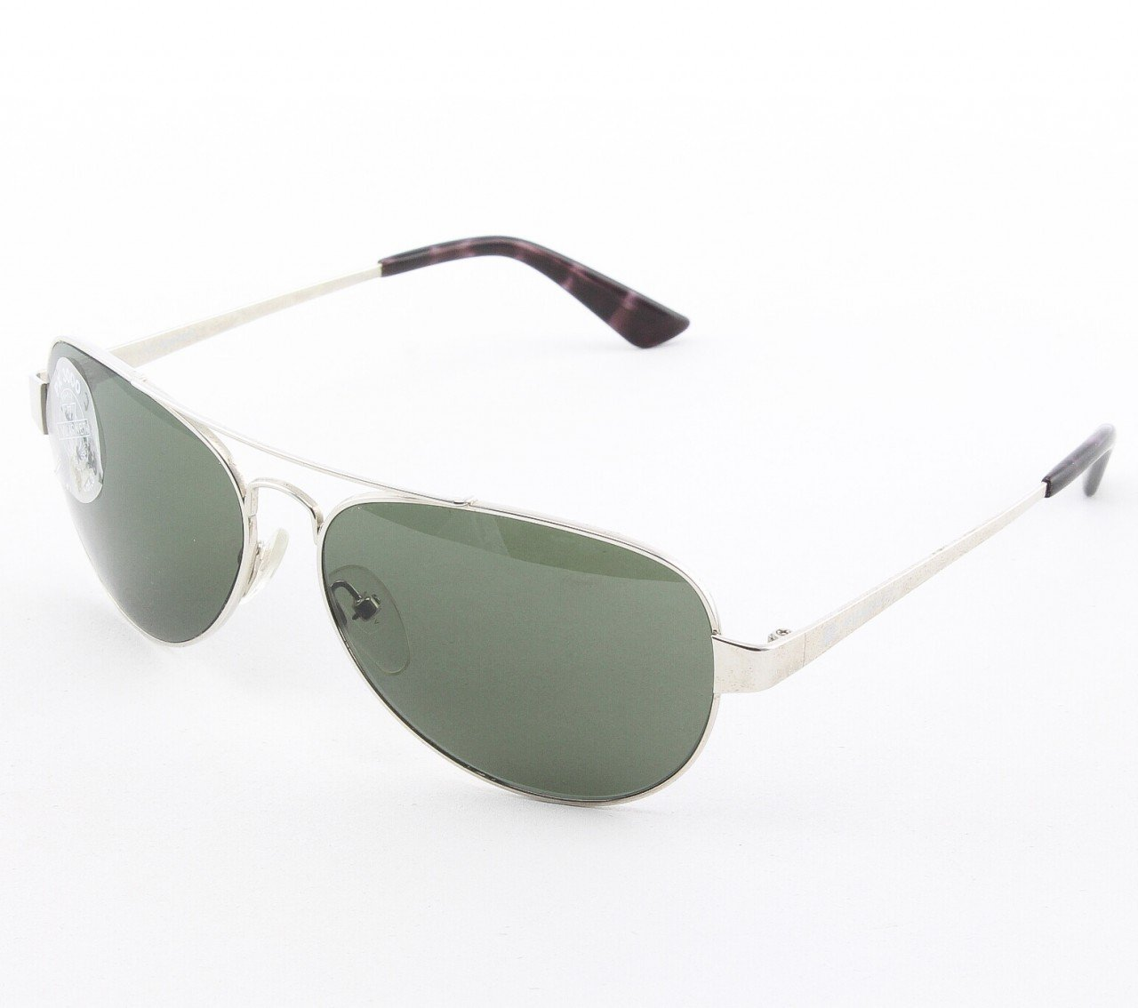 Vuarnet VL 1050 Uni Aviator Sunglasses Col. Silver with Green Grey PX3000 Lenses