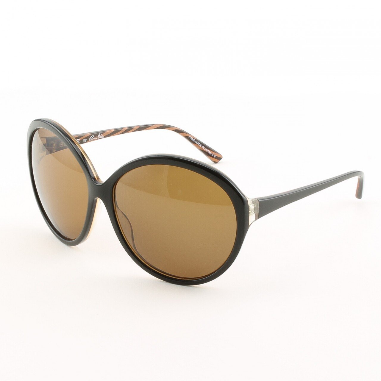 Blinde Way Hot Women's Sunglasses Col. Brown Zebra with Brown Lenses
