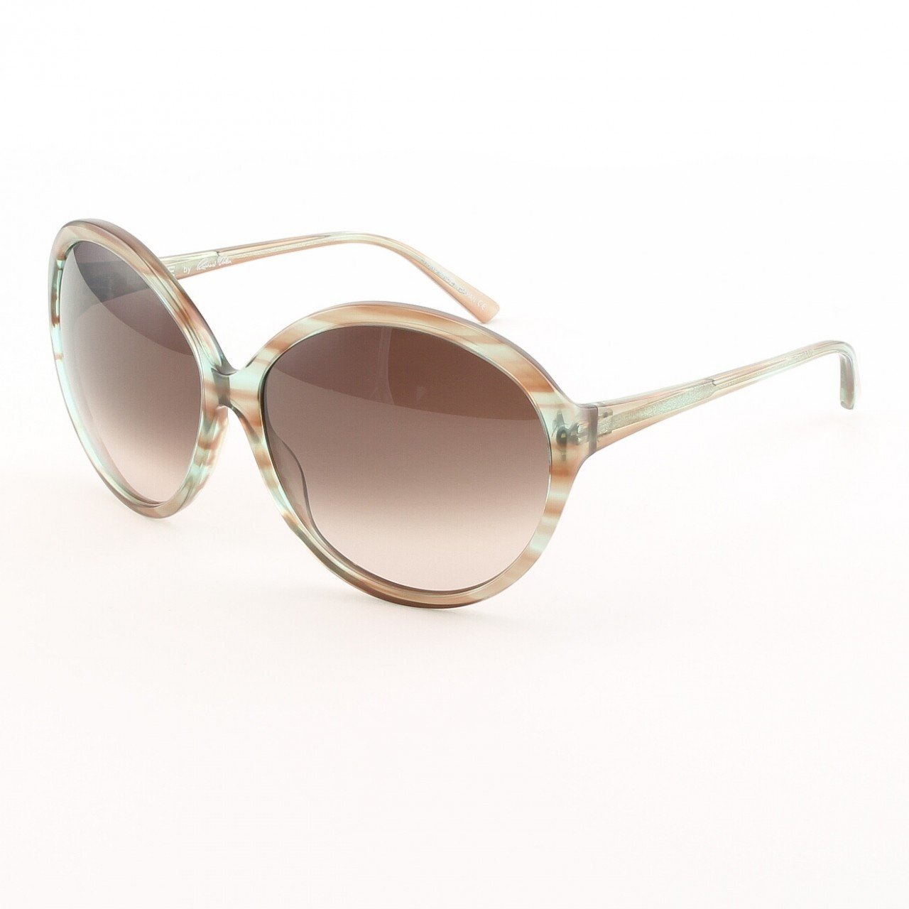 Blinde Way Hot Women's Sunglasses Col. Blue Crystal Tortoise with Pink Gradient Lenses
