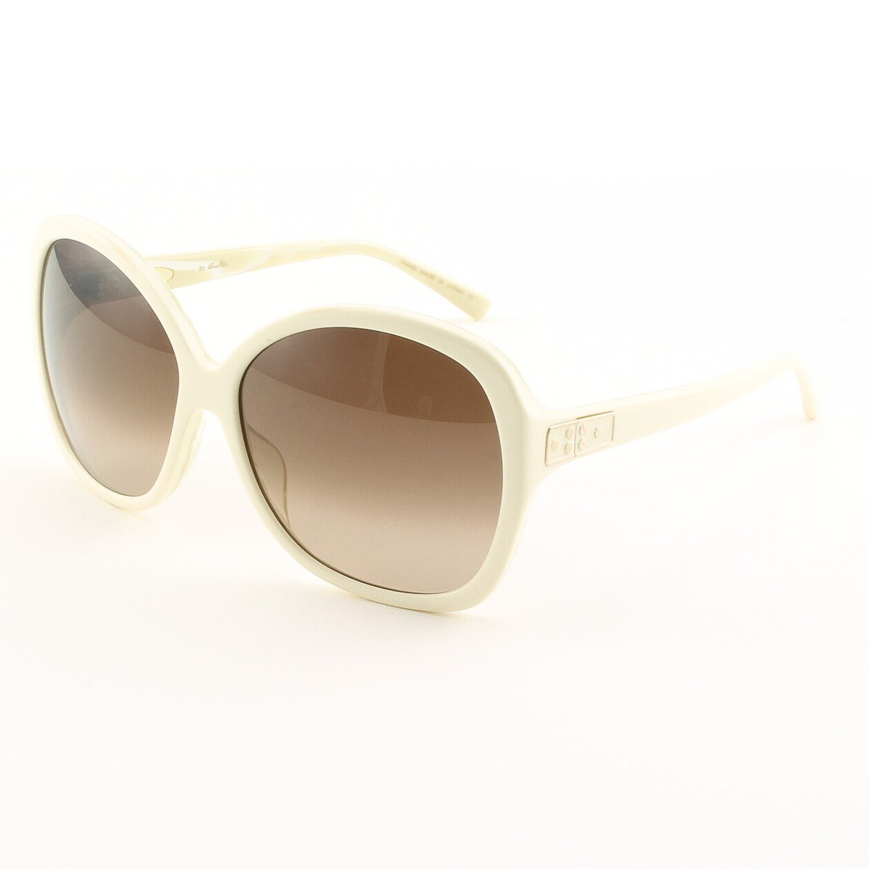 Blinde Now Where Were We Women's Sunglasses Col. Brown Zebra with Brown Gradient Lenses
