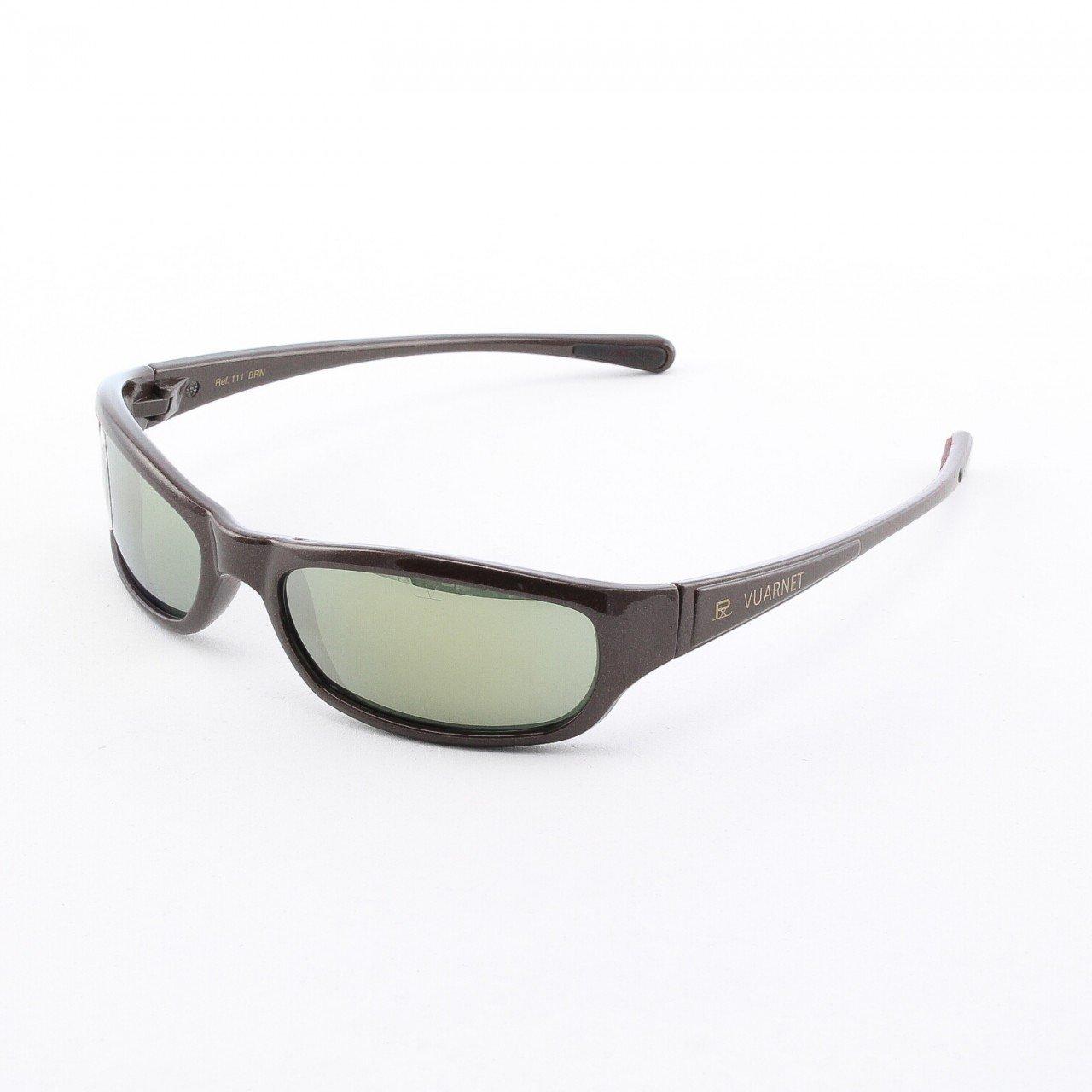 Vuarnet 111 BRNFB Uni Sunglasses Col. Brown with Grey Based PX3000 Lenses