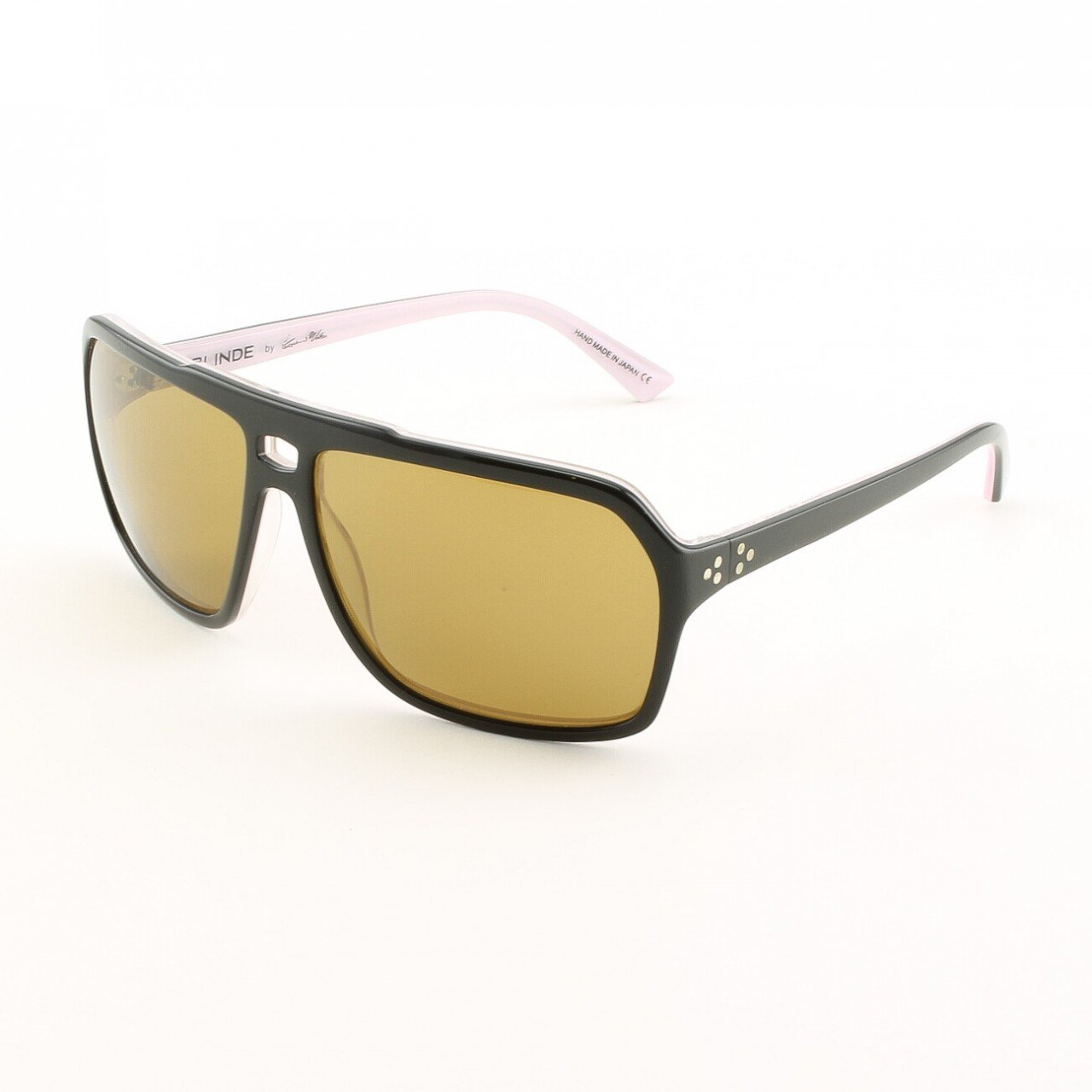 Blinde Mine All Mine Women's Sunglasses Col. Black and Pink with Brown Lenses