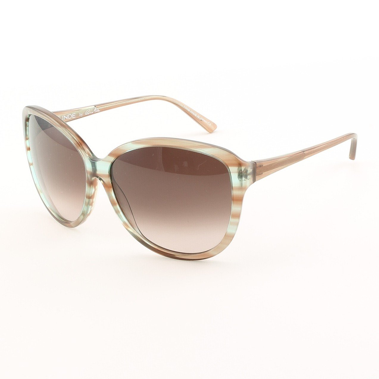 Blinde Like Totally Women's Sunglasses Col. Blue Crystal Tortoise with Purple Gradient Lenses