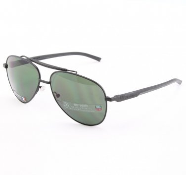 TAG Heuer 881 Men's Sunglasses Col. 301 Black with Dark Grey Lenses
